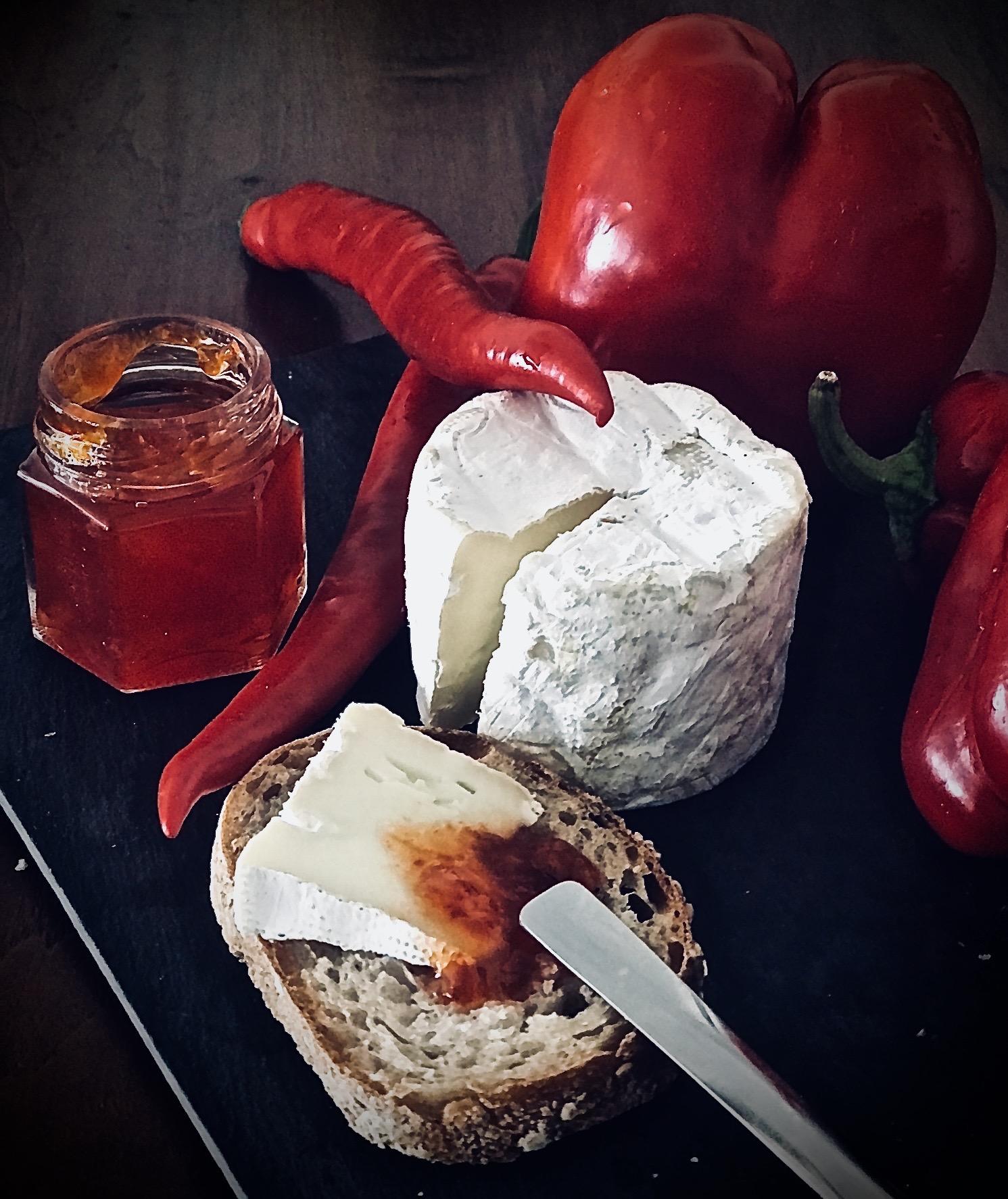 Gelée de chili rouge